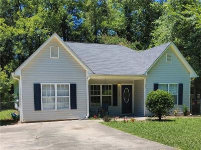 White Single Family Home For Sale: 135 Whispering Pine Lane NE