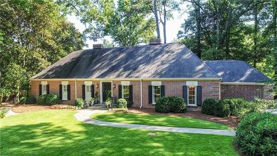 Single Family Home For Sale: 3741 Haddon Hall Road NW