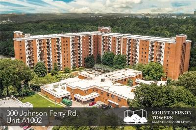 Sandy Springs Condo/Townhouse For Sale: 300 Johnson Ferry Road NE #A1002