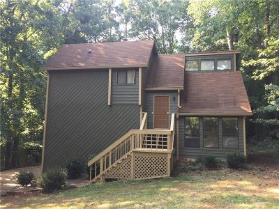 Acworth Single Family Home For Sale: 334 Lake Forest Drive