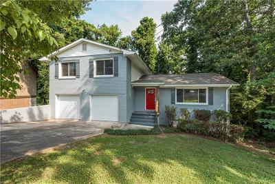 Single Family Home For Sale: 4141 Renfrew Court SW