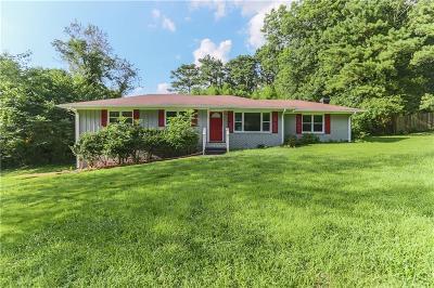 Smyrna Single Family Home For Sale: 3457 Landrum Drive SE
