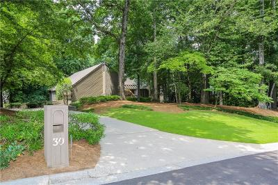 Sandy Springs Single Family Home For Sale: 30 Old Powers Place NW