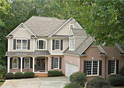 Forsyth County Single Family Home For Sale: 4630 Wood Cove Trail