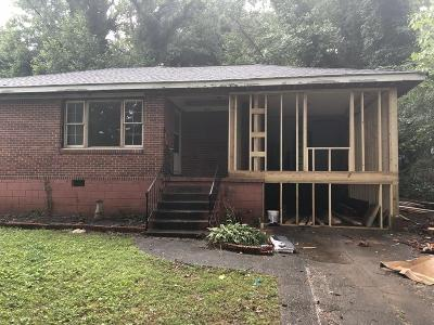 Decatur Single Family Home For Sale: 2074 Rockhaven Drive