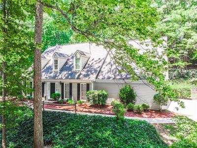 Roswell Single Family Home For Sale: 3433 Johnson Ferry Road NE