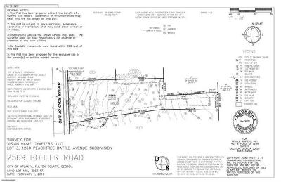 Residential Lots & Land For Sale: 2569 Bohler Road