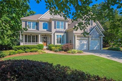Forsyth County Single Family Home For Sale: 4350 Havenridge Place