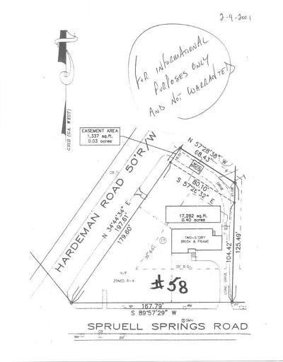 Atlanta Residential Lots & Land For Sale: 58 Spruell Springs Road