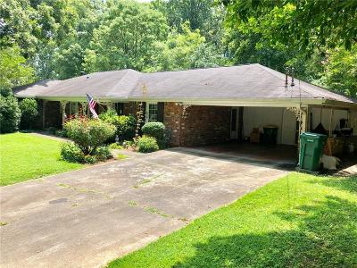 Sandy Springs Single Family Home For Sale: 465 Franklin Road