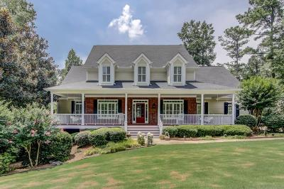 Milton  Single Family Home For Sale: 550 N Burgess Trail