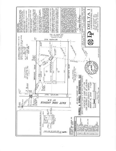 East Atlanta Residential Lots & Land For Sale: 412 East Side Avenue SE