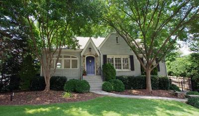 Atlanta GA Single Family Home For Sale: $875,000