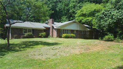 Cobb County Single Family Home For Sale: 1256 E Piedmont Road