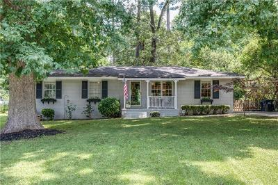 Smyrna Single Family Home For Sale: 465 Concord Woods Drive