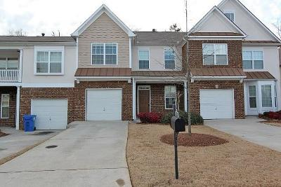 Alpharetta Condo/Townhouse For Sale: 354 Saint Claire Drive