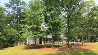 Peachtree City Single Family Home For Sale: 201 Skiff Trace