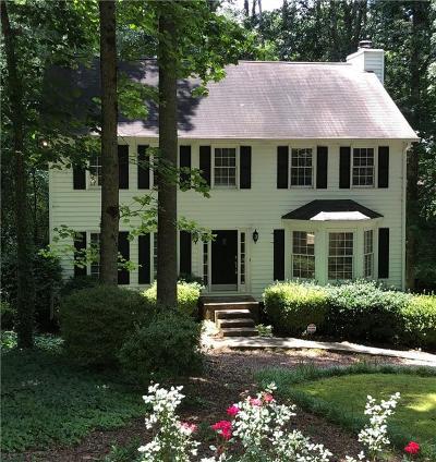 Marietta Single Family Home For Sale: 2169 Heritage Trace Lane