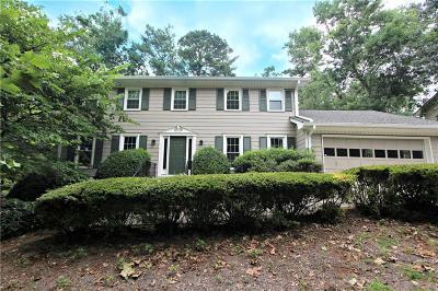 Single Family Home For Sale: 4317 Cedar Wood Drive SW