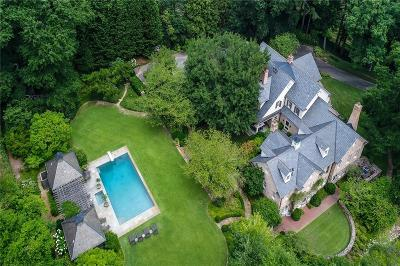 Atlanta GA Single Family Home For Sale: $3,995,000