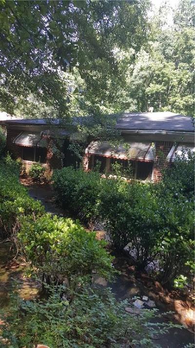 Atlanta Single Family Home For Sale: 989 Ridge Avenue NW