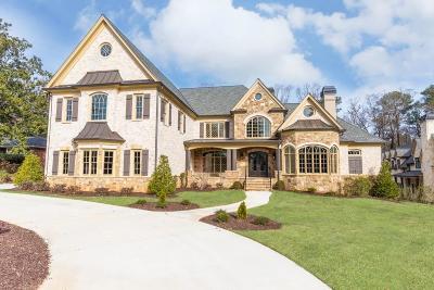 Atlanta GA Single Family Home For Sale: $3,500,000