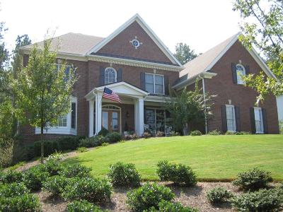 Milton  Single Family Home For Sale: 140 White Columns Drive