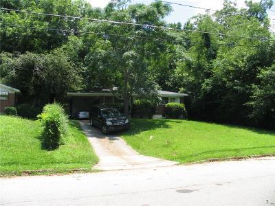 Atlanta Single Family Home For Sale: 1924 Evans Drive SW