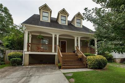 Fulton County Single Family Home For Sale: 1386 Elizabeth Lane