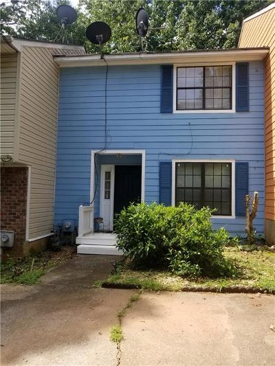 Cobb County Condo/Townhouse For Sale: 281 Flagstone Way