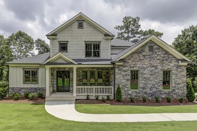 Cobb County Single Family Home For Sale: 3850 Bluffview Drive