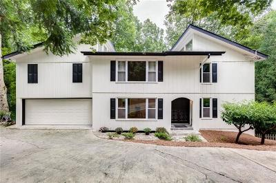 Fulton County Single Family Home For Sale: 2710 Margaret Mitchell Drive NW