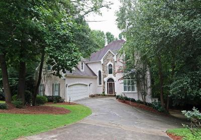 Dunwoody Single Family Home For Sale: 1247 Manor Oaks Court