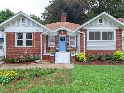 Atlanta Multi Family Home For Sale: 1269 N Highland Avenue NE