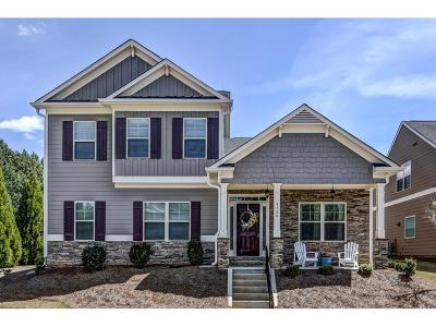 Acworth Single Family Home For Sale: 4520 Silver Pointe