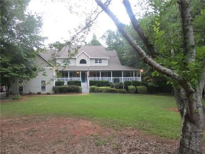 Social Circle Single Family Home For Sale: 1055 Cooper Road