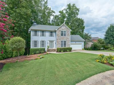 Kennesaw Single Family Home For Sale: 3889 Collier Trace NW