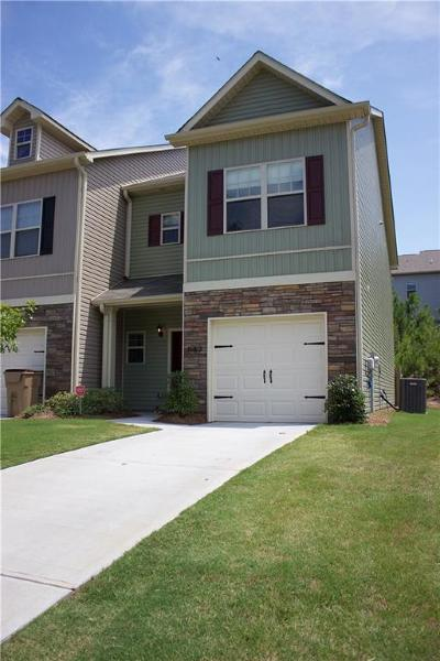 Acworth Condo/Townhouse For Sale: 587 Oakside Place