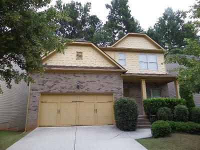 Lawrenceville Single Family Home For Sale: 1511 Scenic Pines Drive