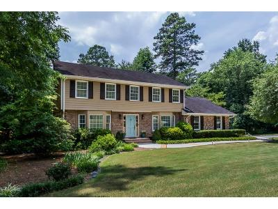 Dunwoody Single Family Home For Sale: 5370 N Peachtree Road