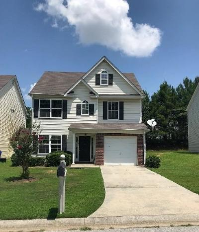Union City Single Family Home For Sale: 6281 Hickory Lane Circle