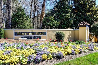 Brookhaven Condo/Townhouse For Sale: 3777 Peachtree Road NE #1112