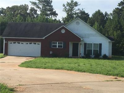Griffin Single Family Home For Sale: 1044 Longview Trail