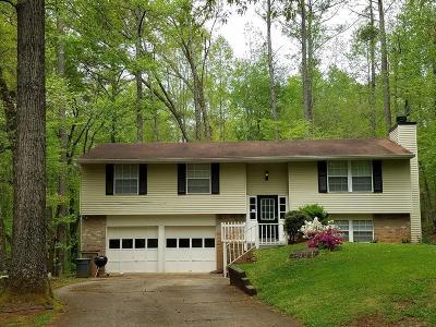 Marietta GA Single Family Home For Sale: $220,000
