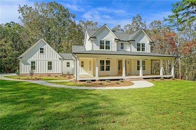 Ball Ground Single Family Home For Sale: 135 Laurel Ridge Lane