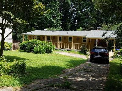 Atlanta Single Family Home For Sale: 3599 Vanet Road