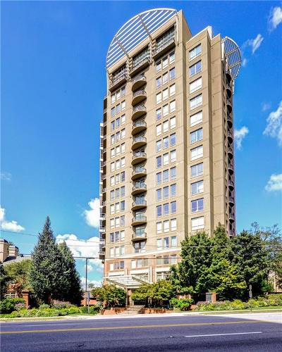 Atlanta Condo/Townhouse For Sale: 2626 Peachtree Road NW #205