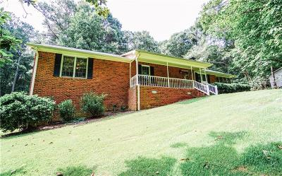 Single Family Home For Sale: 1579 Bullard Road