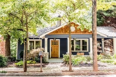 Atlanta Single Family Home For Sale: 1131 Woodland Avenue SE
