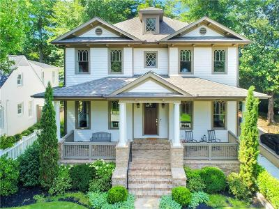 Atlanta Single Family Home For Sale: 831 Longwood Drive NW